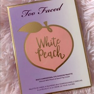BRAND NEW Too Faced White Peach Eyeshadow Palette